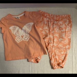 H&M Baby Girl's 2-Piece Outfit